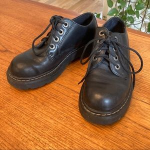 90's Candie's Leather Creepers